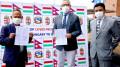 हंगेरी सरकारद्वारा स्वास्थ्य सामग्री हस्तान्तरण