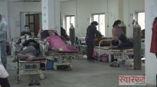 पाटन अस्पताल लाइभ: संक्रमणमुक्त स्वास्थ्यकर्मी नै कोभिडका बिरामीको उपचार गर्दै, मनोवल बढाउँदै
