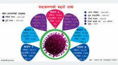 फेरि बढ्दै संक्रमण, यी १० जिल्लामा ५०० भन्दा बढी संक्रमित