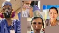 कोभिड-१९ विरुद्धको खोप लगाएकी नेपाली नर्स भन्छिन्-अहिले त्रास निकै कम भएको छ