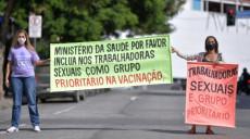 कोरोनाविरुद्धको खोप लगाउन 'फ्रन्टलाइन' नपरेपछि ब्राजिलका याैनकर्मी हड्तालमा