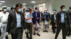 काठमाडौंका खोप केन्द्रः प्रधानमन्त्री पुग्दा व्यवस्थित, अन्य समय भिडभाड!