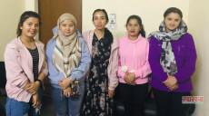 अध्ययन कोटा हटाएपछि दुर्गममा सेवा दिएका सरकारी नर्सहरू न्याय माग्दै काठमाडौंमा